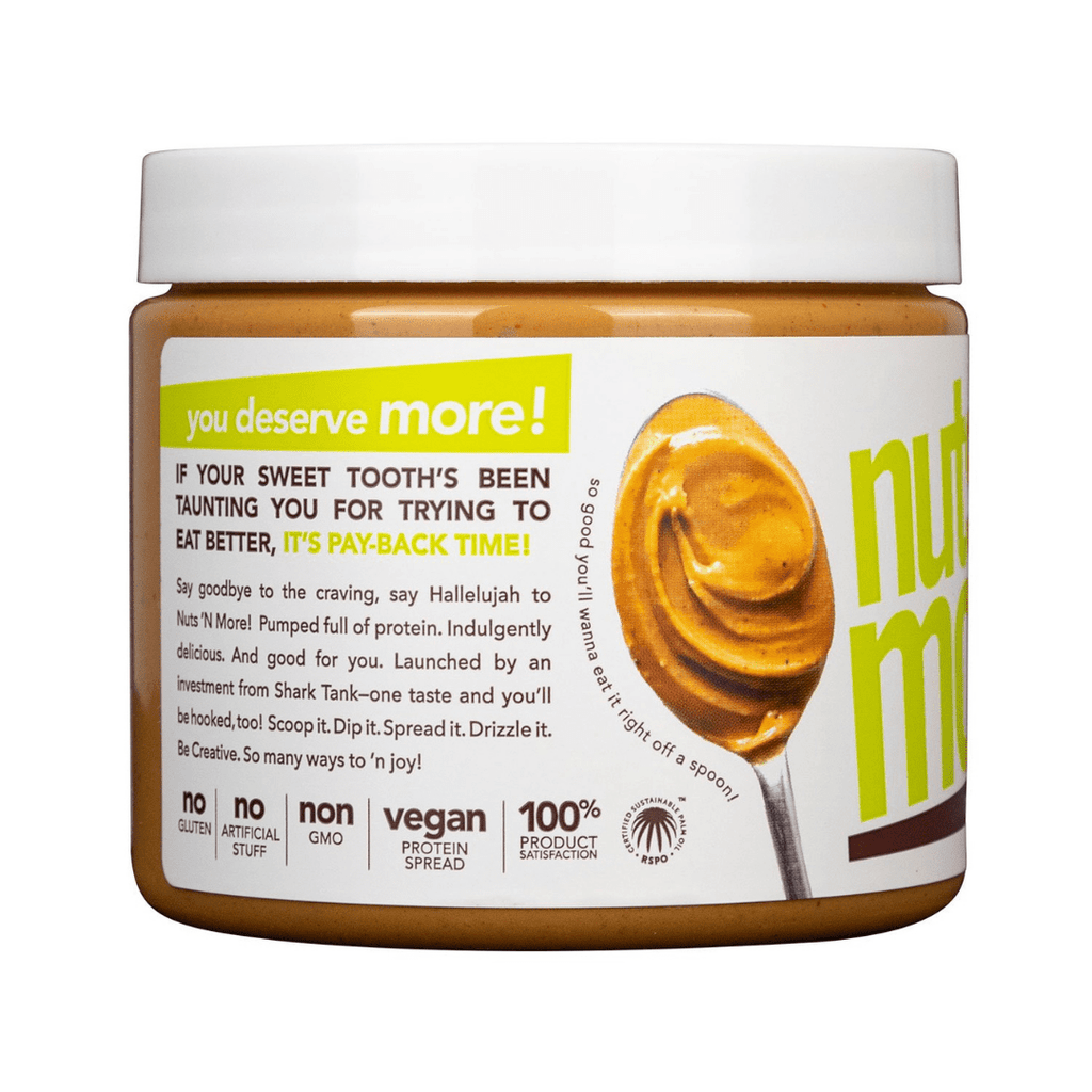 Nuts 'N More Vegan Plant Based Peanut Butter Protein Spread