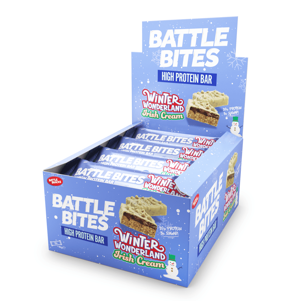 Battle Snacks Protein Battle Bites Box (12 Bars)