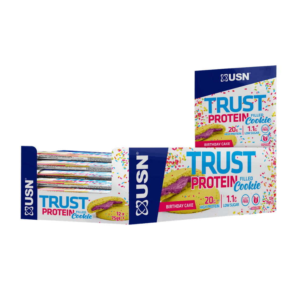 USN Trust Protein Filled Cookie Box (12 Cookies)