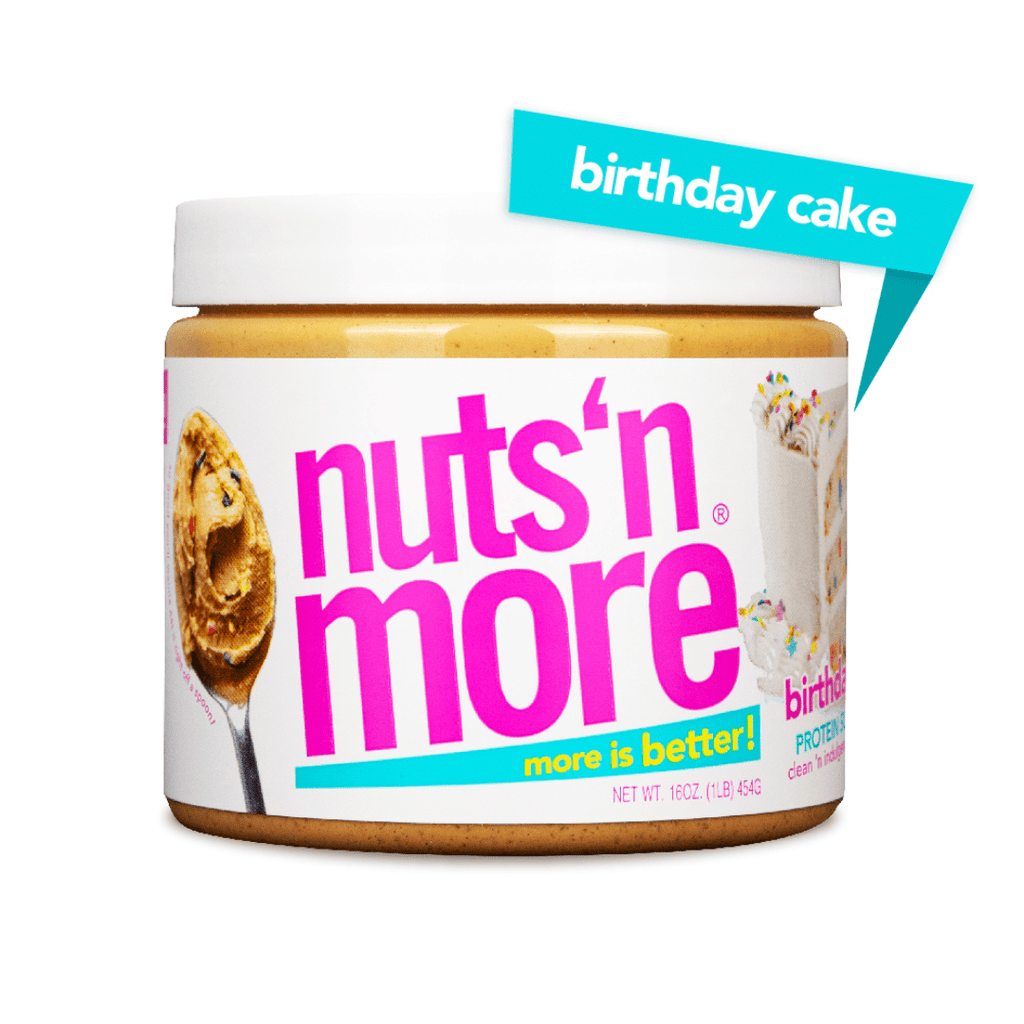 Nuts 'N More Peanut Butter Protein Spread Birthday Cake, Protein Spread, Nuts N' More, Protein Package, Pick and Mix Protein UK