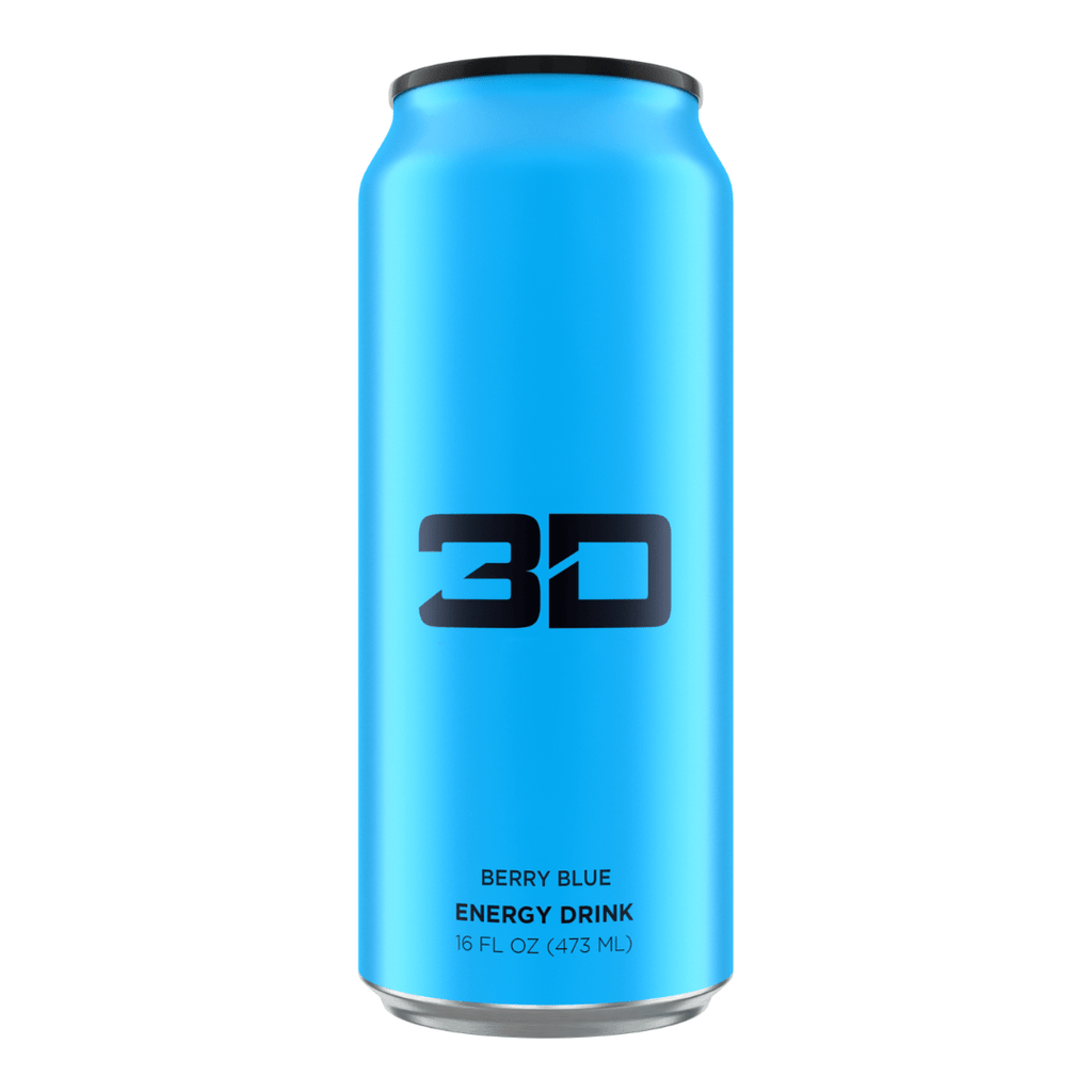 Christian Guzman's 3D Energy Drink Blue Berry - Protein Package