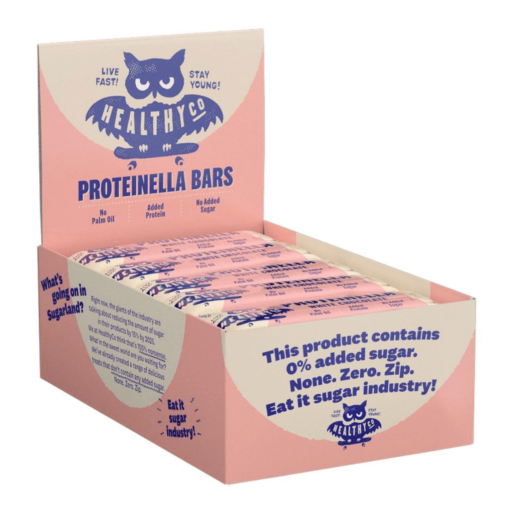 Healthy Co Proteinella Protein Bar White Chocolate