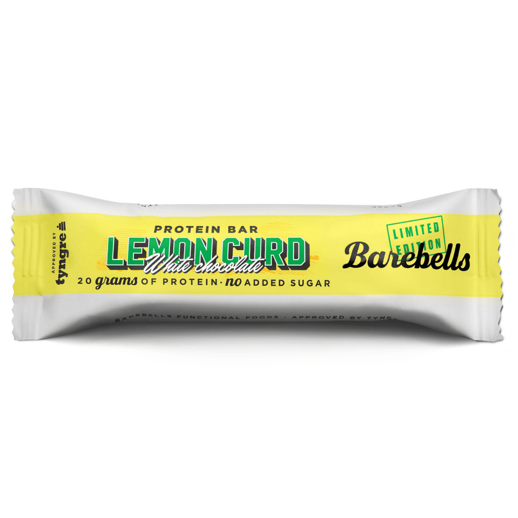 Barebells Protein Bar White Chocolate Lemon Curd