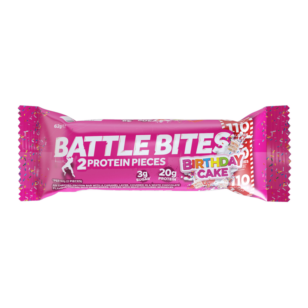 Battle Snacks Protein Battle Bites Birthday Cake, Protein Bar, Battle Snacks, Protein Package Protein Package Pick and Mix Protein UK