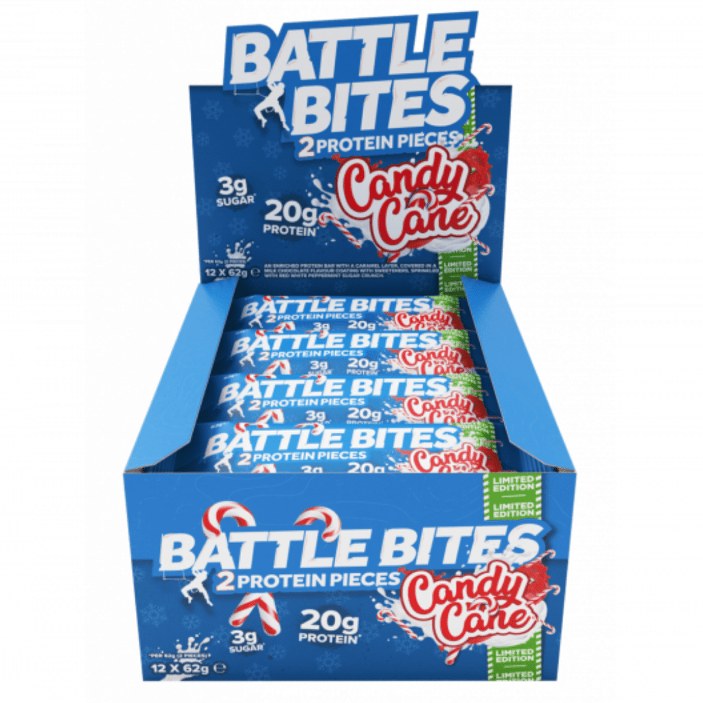 Battle Snacks Protein Battle Bites Candy Cane, Protein Bars, Battle Snacks, Protein Package Protein Package Pick and Mix Protein UK