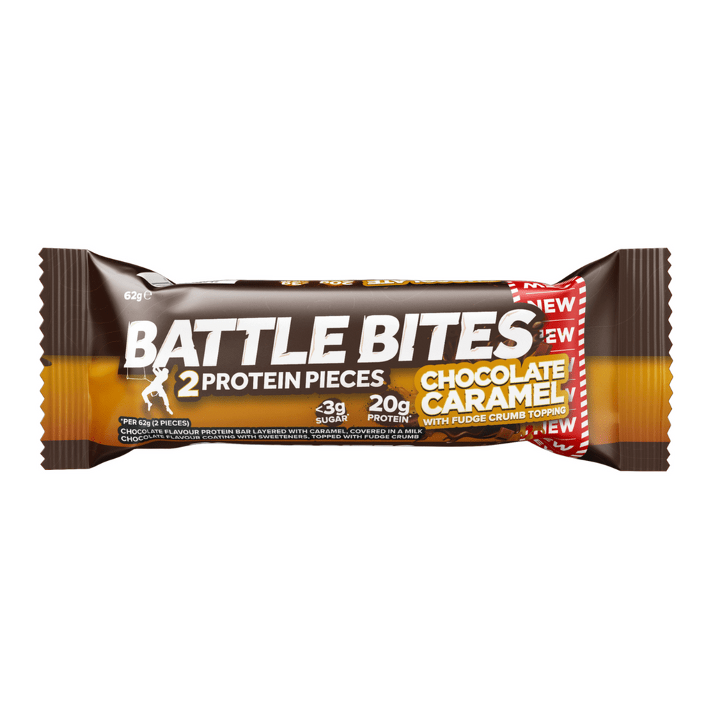 Battle Snacks Protein Battle Bites Chocolate Caramel, Protein Bars, Battle Snacks, Protein Package Protein Package Pick and Mix Protein UK