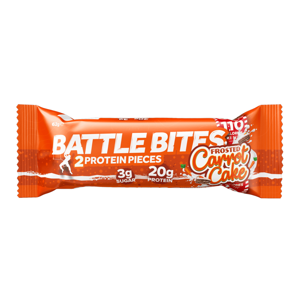 Battle Snacks Protein Battle Bites Carrot Cake - Protein Package