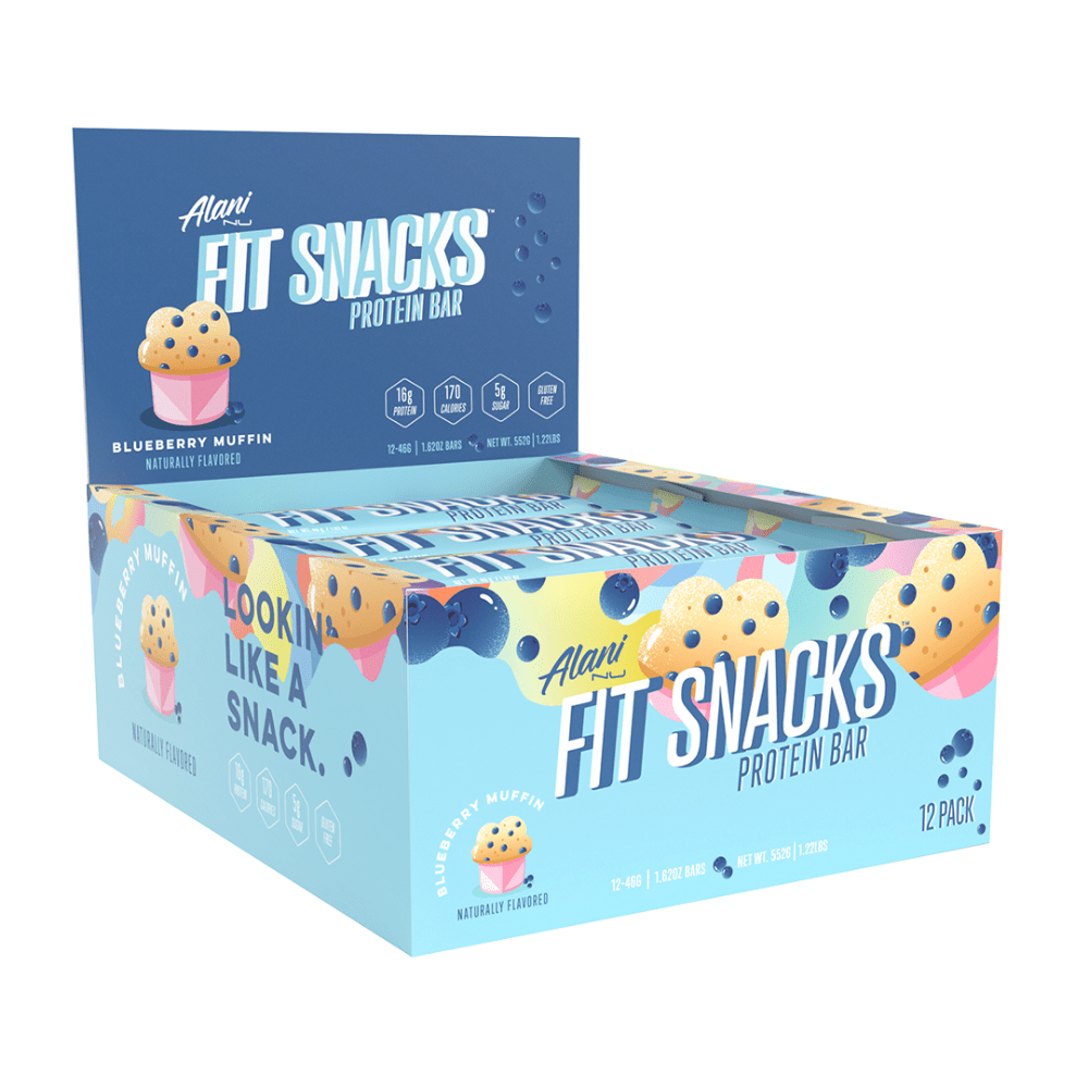 Box of Fit Snacks Protein Bars by Alani Nu (12 Pack)