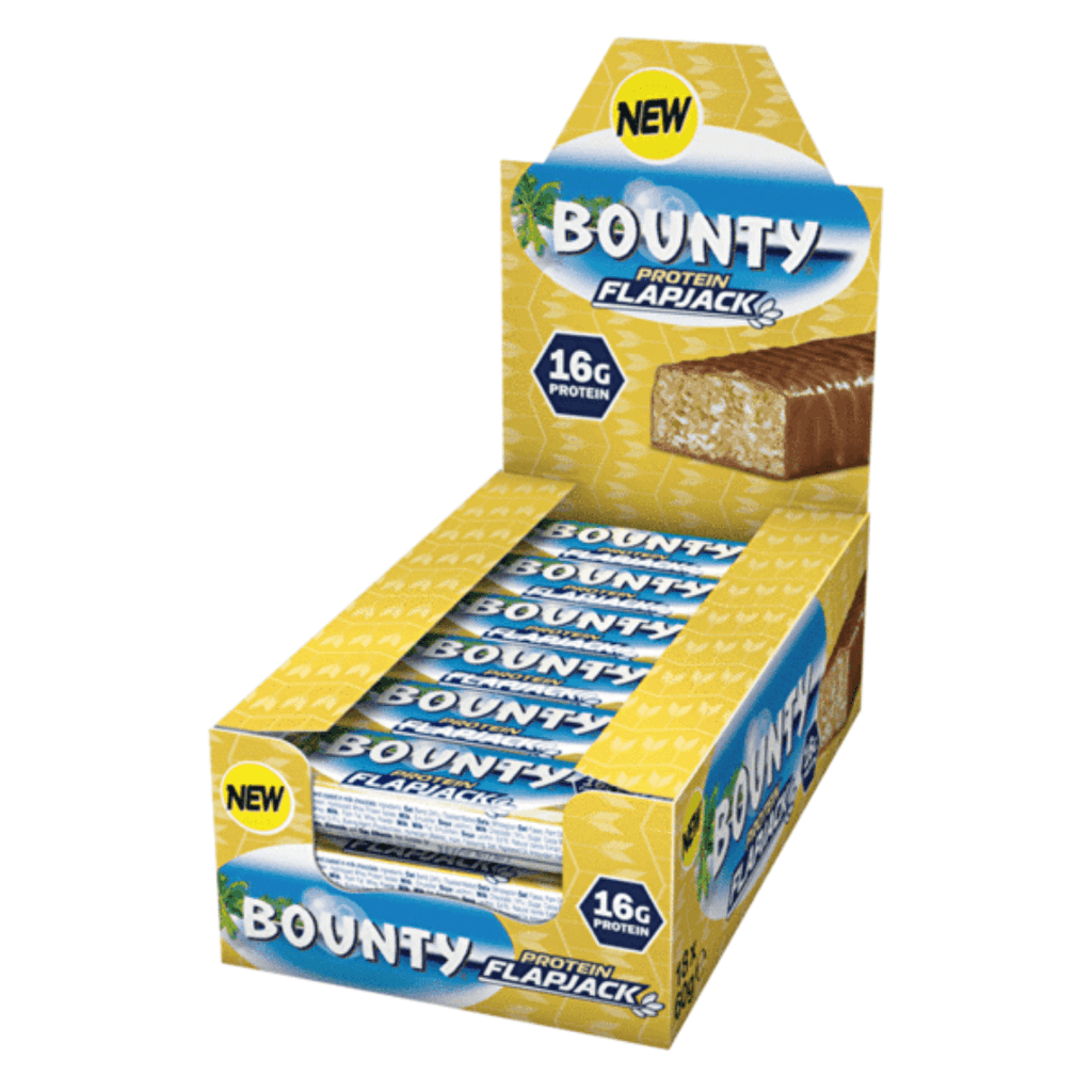Bounty Hi-Protein Flapjack, Protein Flapjack, Bounty, Protein Package Protein Package Pick and Mix Protein UK