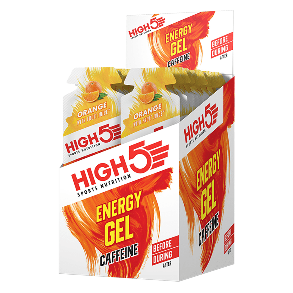 High 5 Energy Caffeine Gel Orange, Energy Gels, High 5, Protein Package Protein Package Pick and Mix Protein UK