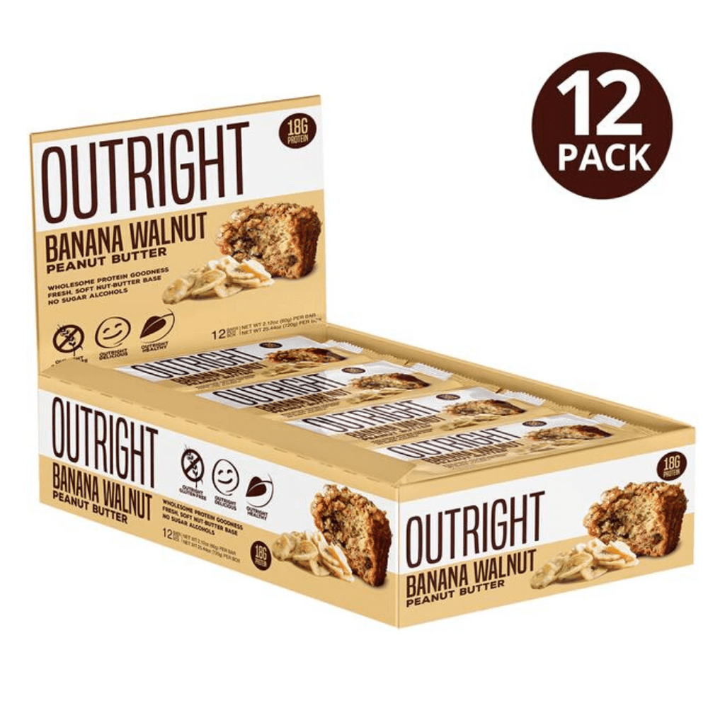 MTS Nutrition Outright Protein Bar Banana Walnut, Protein Bars, MTS Nutrition, Protein Package Protein Package Pick and Mix Protein UK