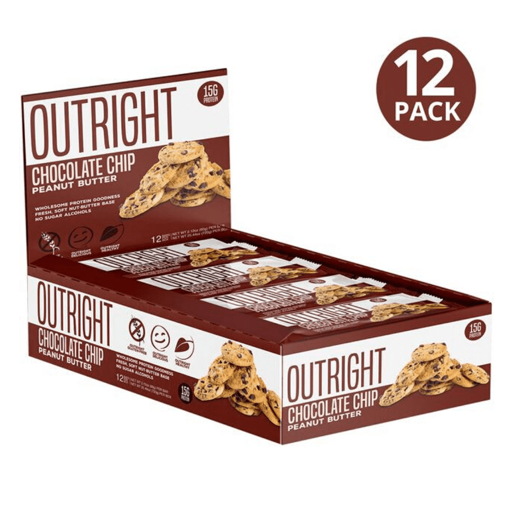 MTS Nutrition Outright Protein Bar Chocolate Chip, Protein Bars, MTS Nutrition, Protein Package Protein Package Pick and Mix Protein UK