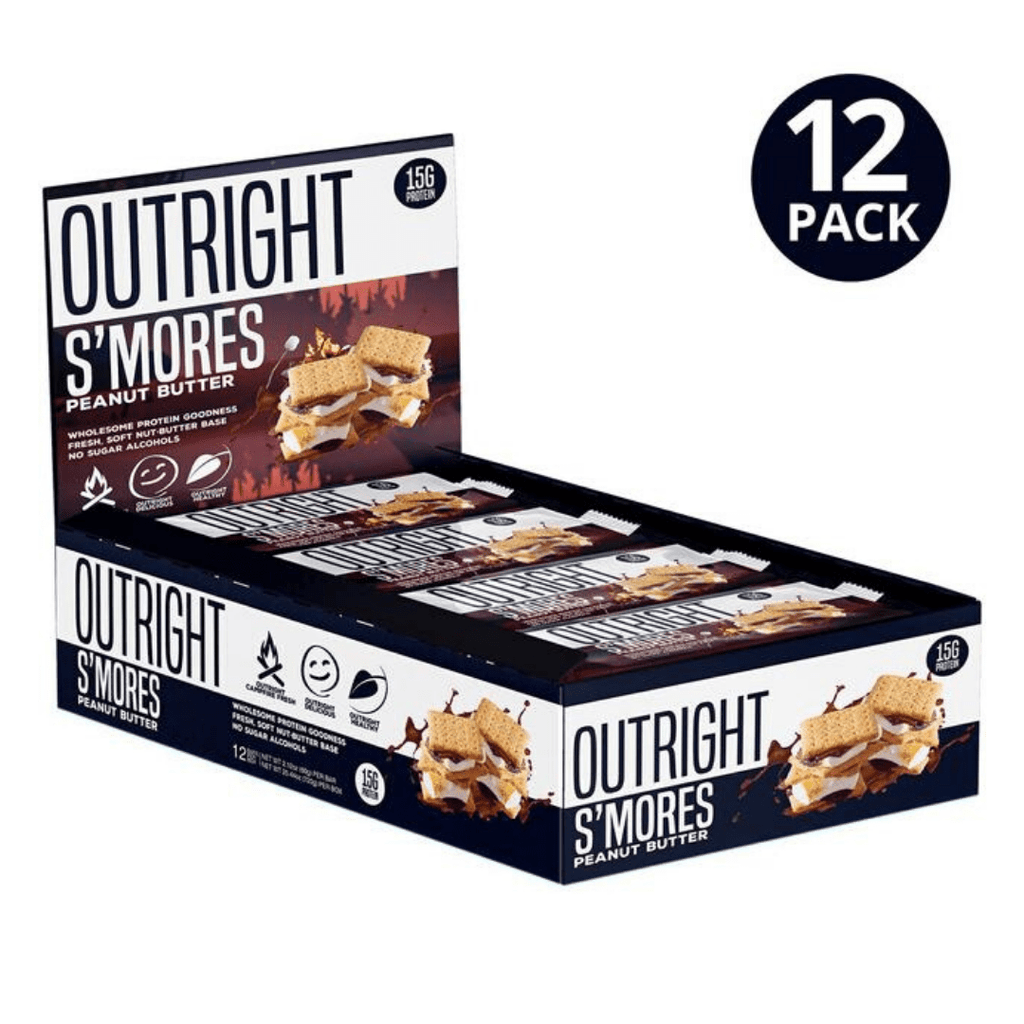 MTS Nutrition Outright Protein Bar S'mores, Protein Bars, MTS Nutrition, Protein Package Protein Package Pick and Mix Protein UK