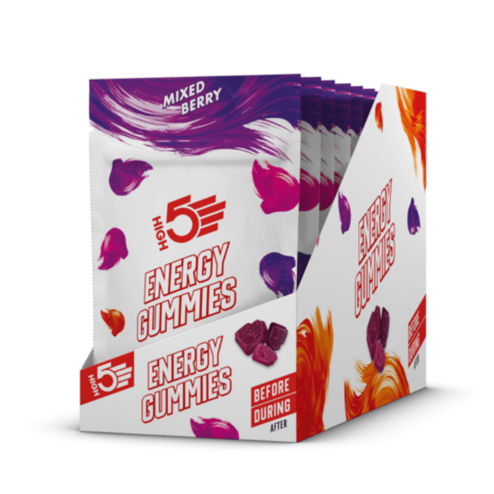 High 5 Energy Gummies Box (10 Packets)