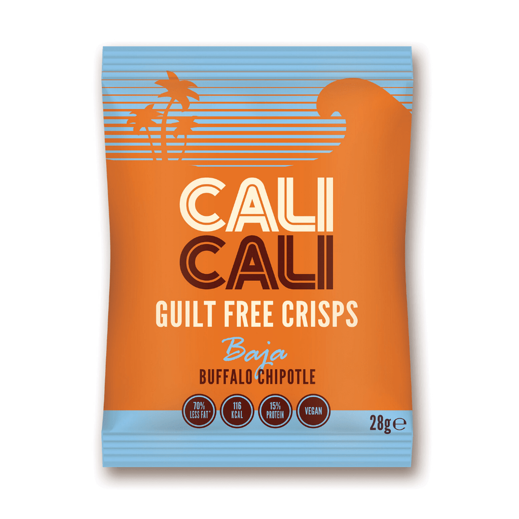 Cali Cali Guilt Free Protein Crisps Buffalo Chipotle, Protein Crisps, Cali Cali, Protein Package Protein Package Pick and Mix Protein UK