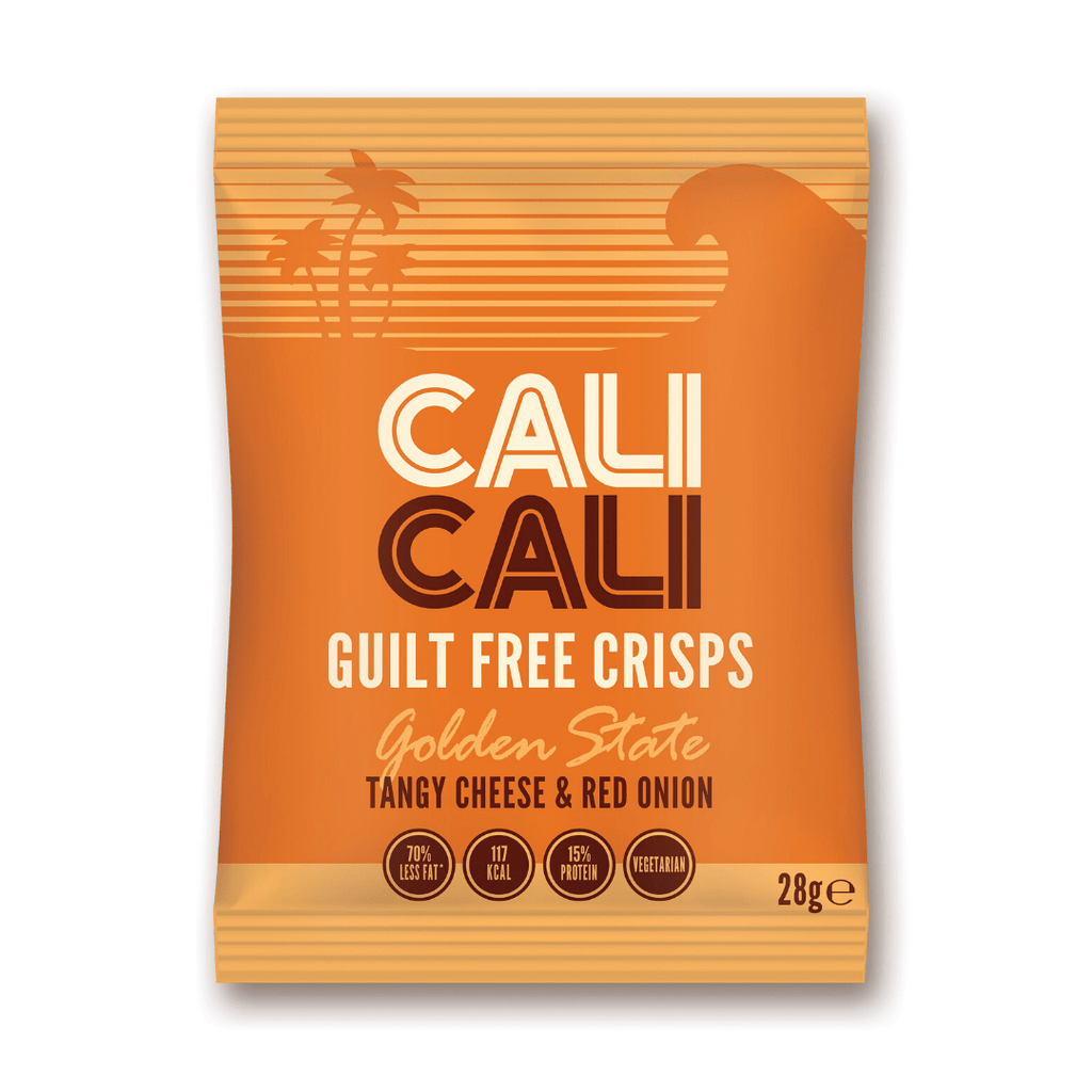 Cali Cali Guilt Free Protein Crisps Tangy Cheese & Red Onion, Protein Crisps, Cali Cali, Protein Package Protein Package Pick and Mix Protein UK