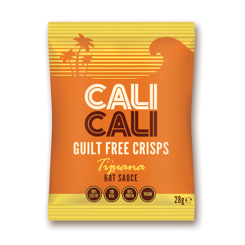 Cali Cali Guilt Free Protein Crisps Hot Sauce, Protein Crisps, Cali Cali, Protein Package Protein Package Pick and Mix Protein UK