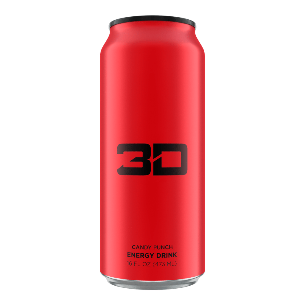 Christian Guzman's 3D Energy Drink Red Candy Punch - Protein Package