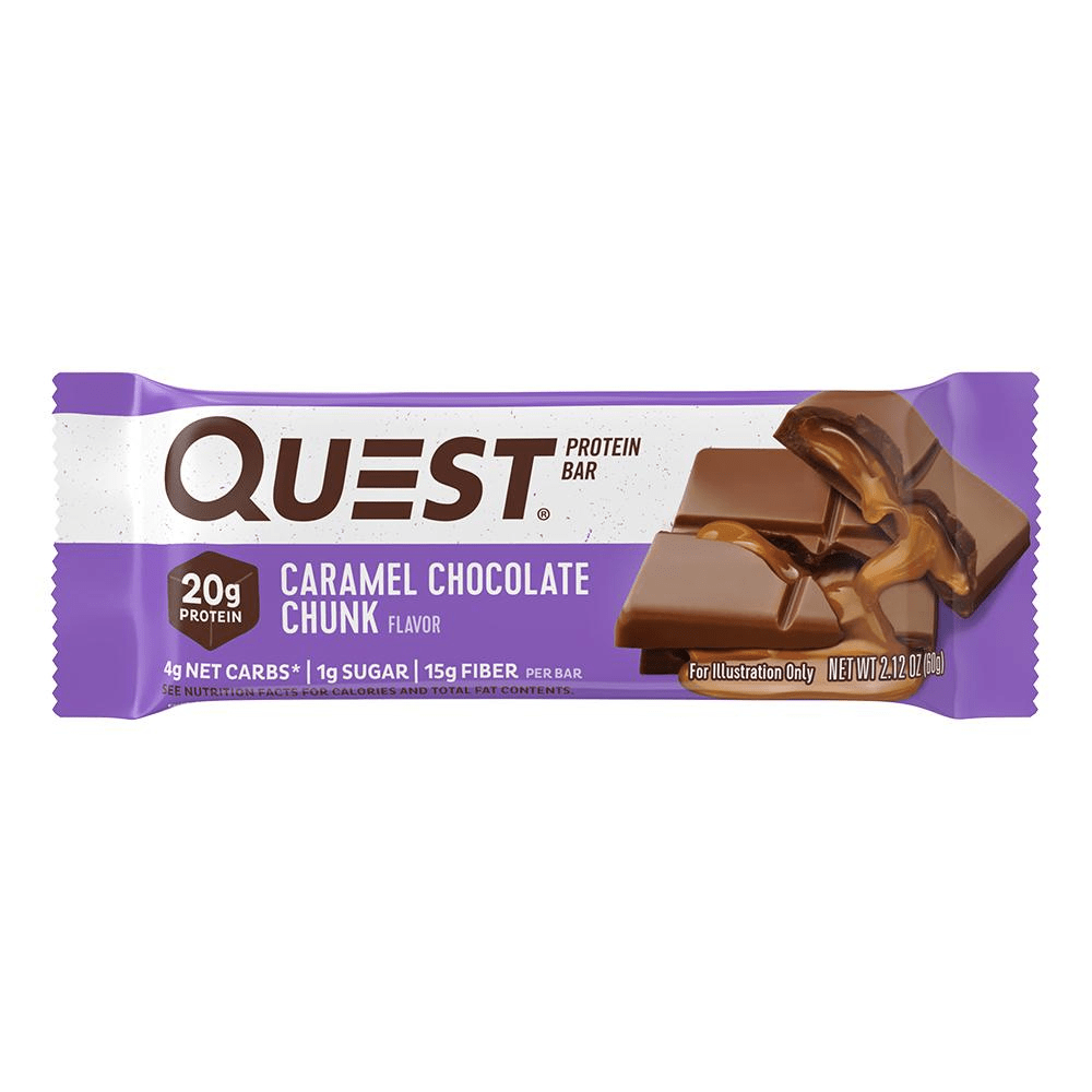 Pick and mix Quest Nutrition Protein Bars Caramel Chocolate Chunk 60g