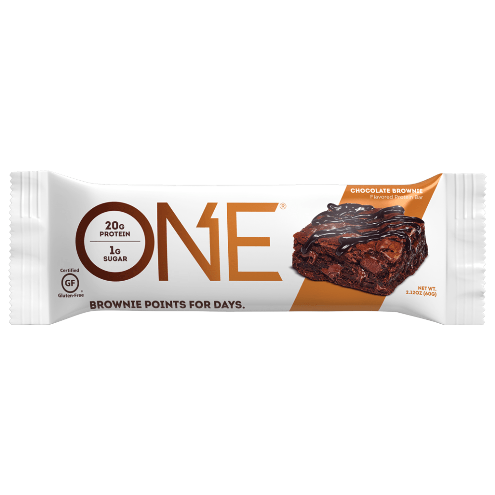 CHOCOLATE BROWNIE ONE Brands Protein Bars Single Pick and Mix UK Protein Package