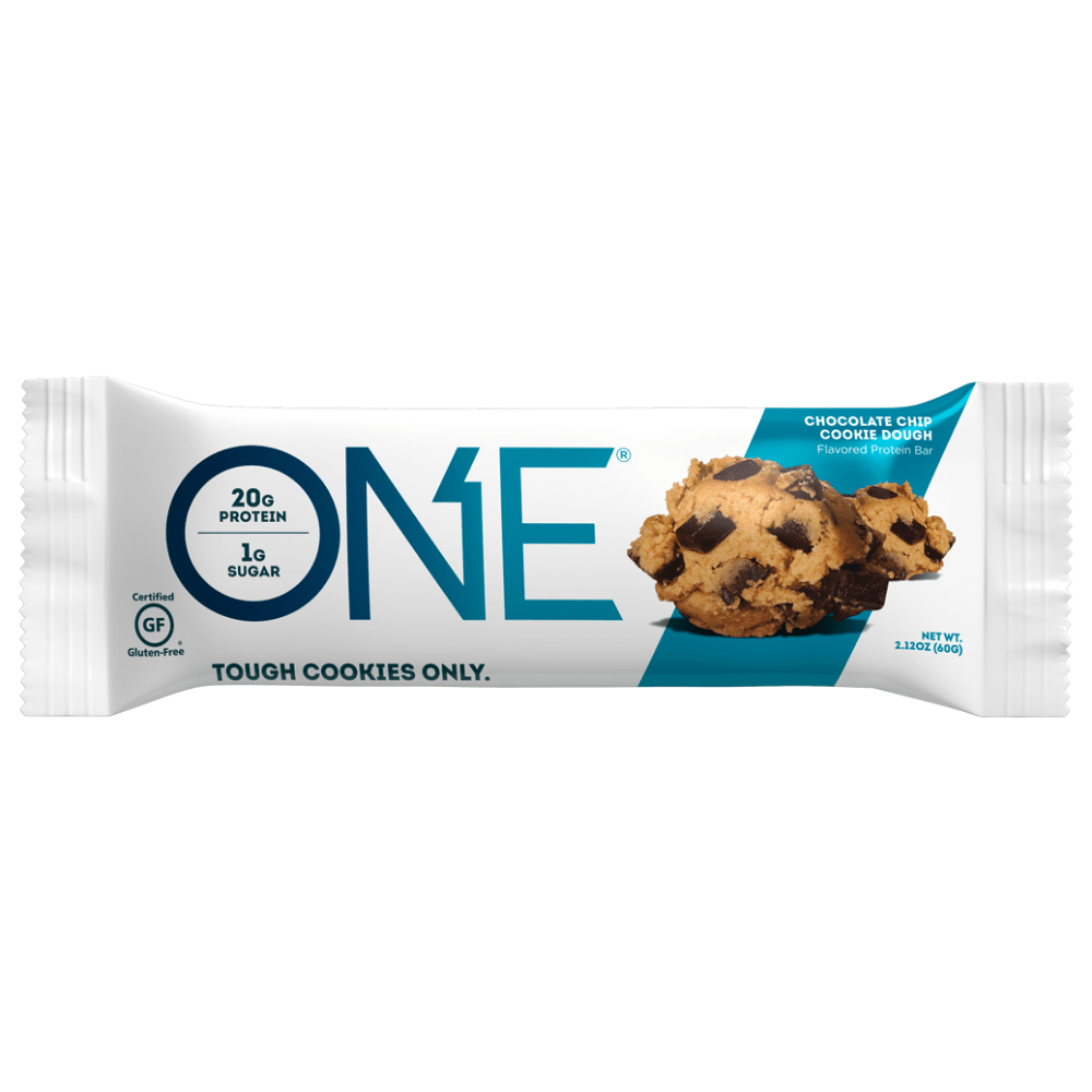 Chocolate Chip Cookie Dough ONE Brands Protein Bars