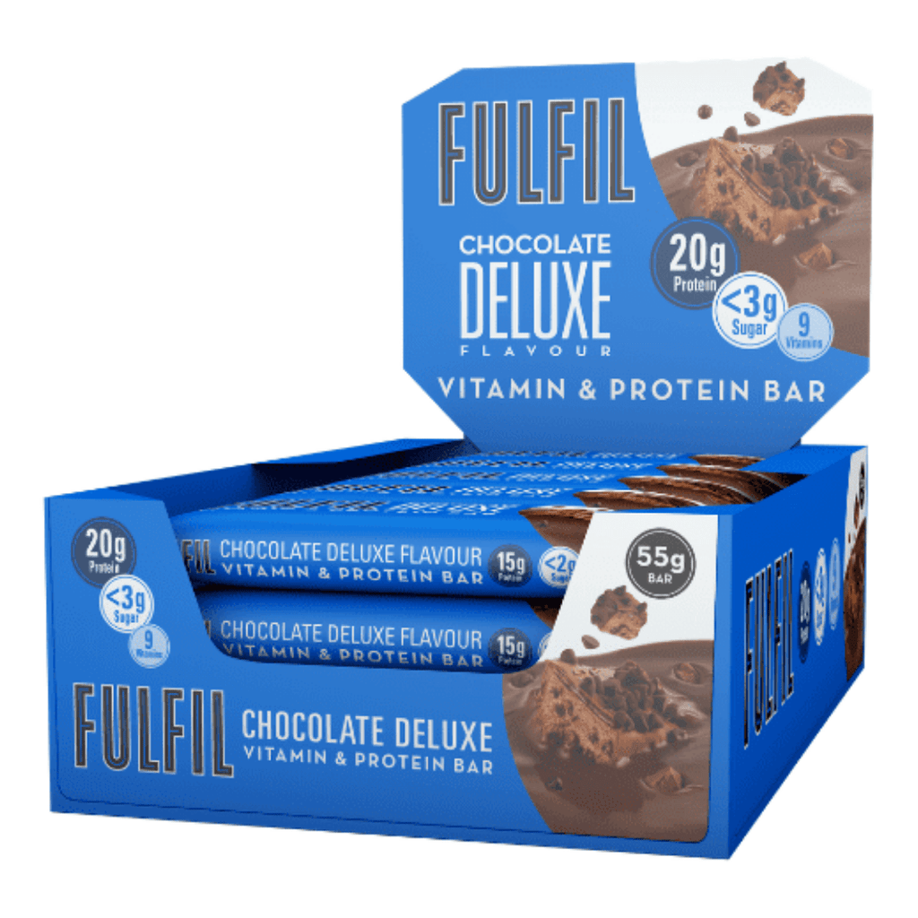 Fulfil Nutrition Vitamin & Protein Bar Box (15 Bars), Protein Bars, Fulfil Nutrition, Protein Package Protein Package Pick and Mix Protein UK
