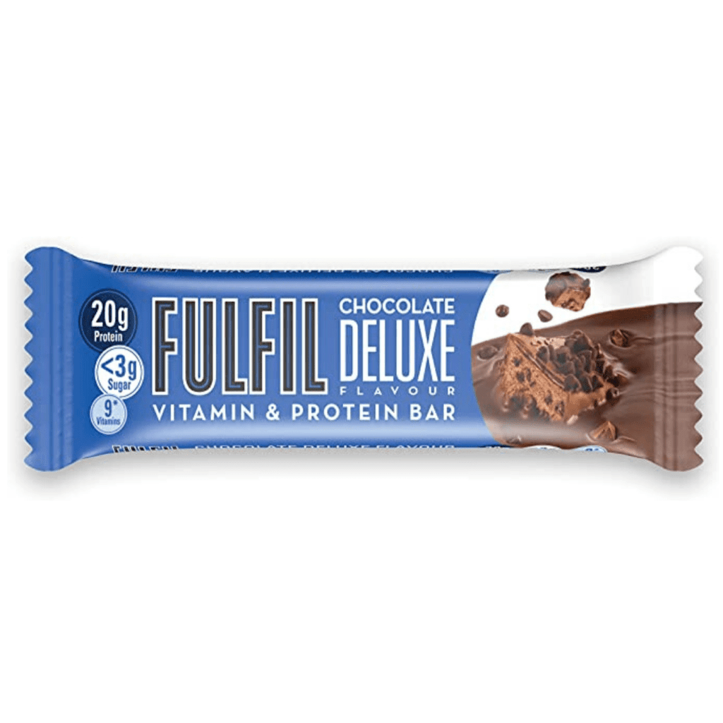 Fulfil Nutrition Vitamin & Protein Bar Chocolate Deluxe, Protein Bars, Fulfil Nutrition, Protein Package Protein Package Pick and Mix Protein UK