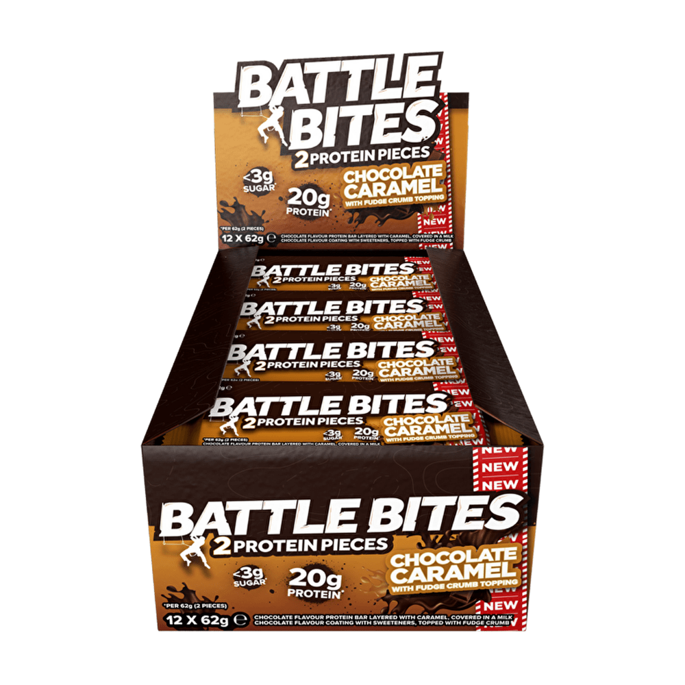 Battle Snacks Protein Battle Bites Chocolate Caramel, Protein Bars, Battle Snacks, Protein Package, Pick and Mix Protein UK
