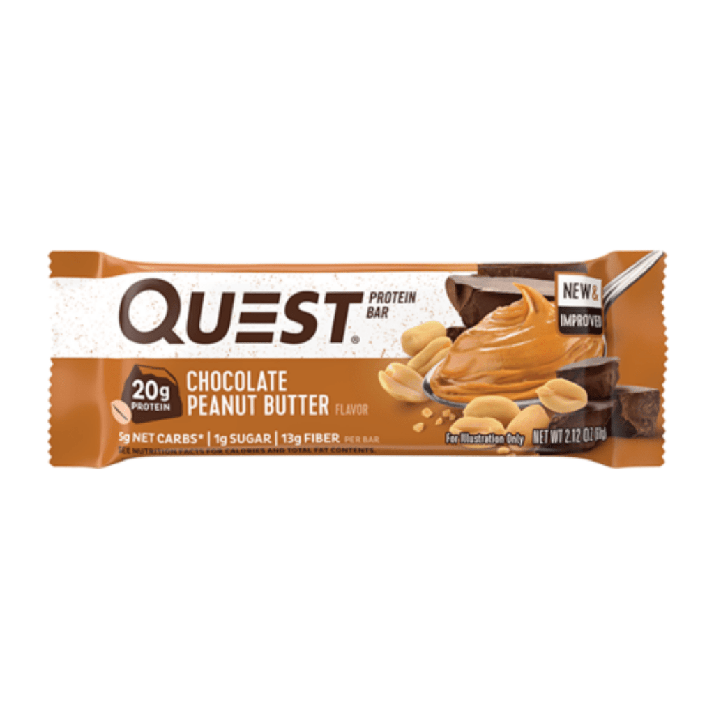 Quest Nutrition Protein Bar Chocolate Peanut Butter, Protein Bars, Quest Nutrition, Protein Package Protein Package Pick and Mix Protein UK