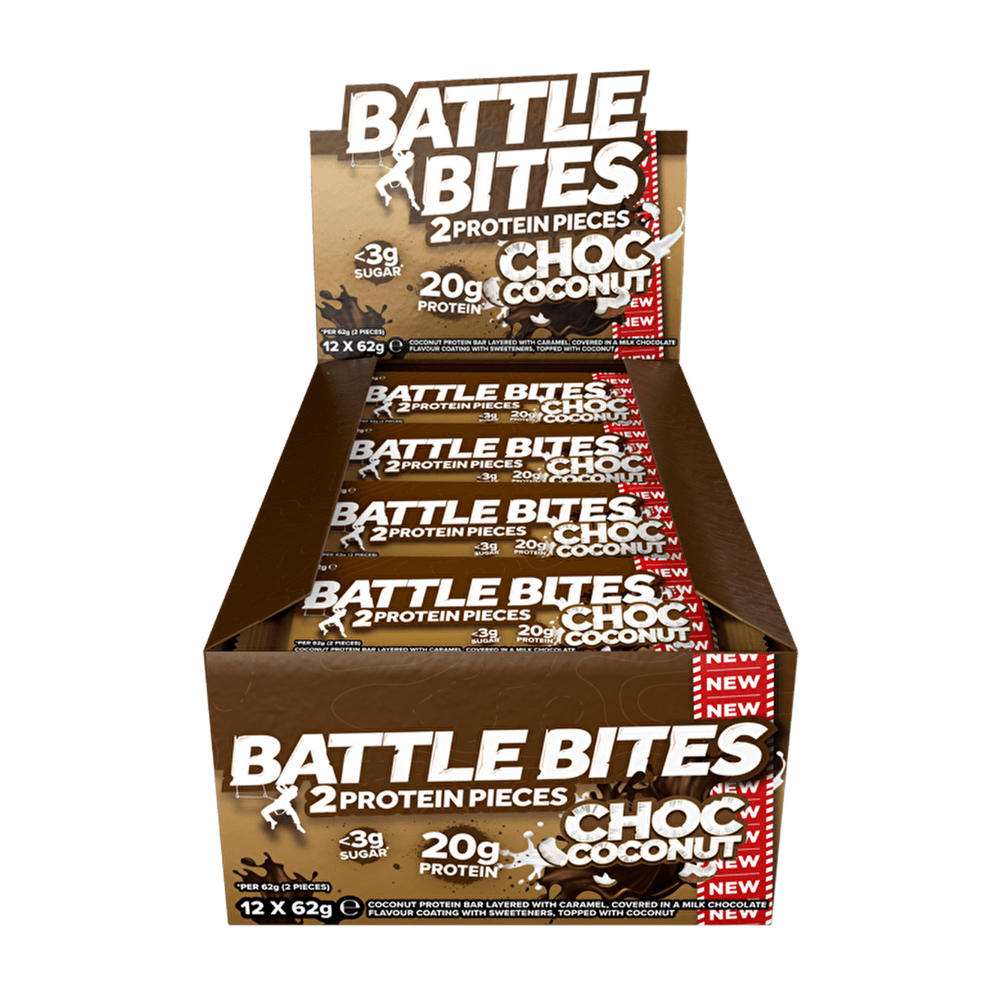 Battle Snacks Protein Battle Bites Chocolate Coconut - Protein Package