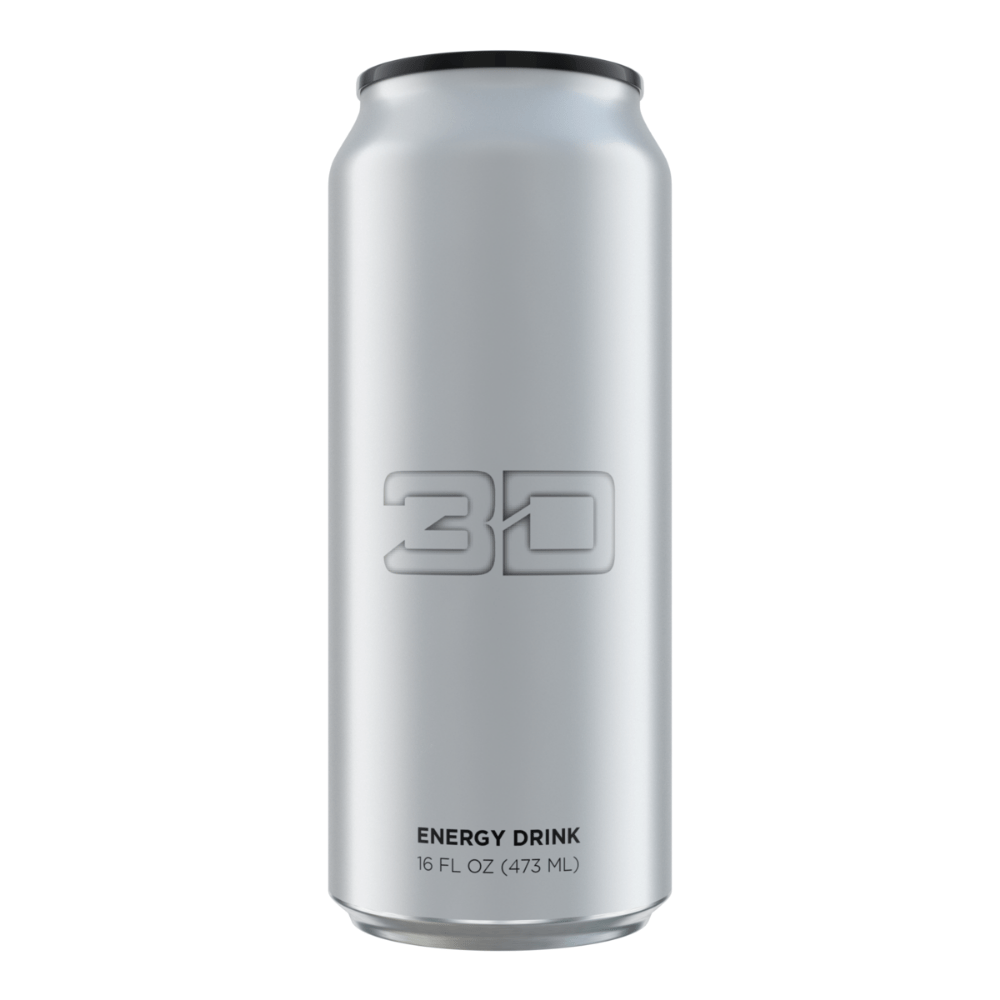 Christian Guzman's 3D Energy Drink Chrome Strawberry Lemonade