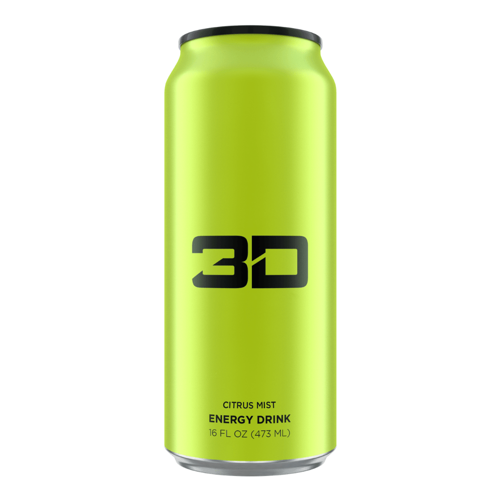 3D Energy Drink Green Citrus Mist, Energy Drinks, 3D Energy, Protein Package Protein Package Pick and Mix Protein UK