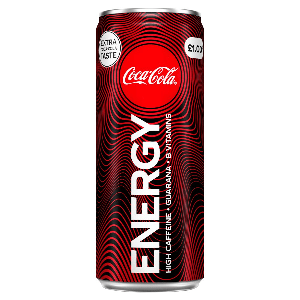 Coca-Cola Energy Drink Cherry