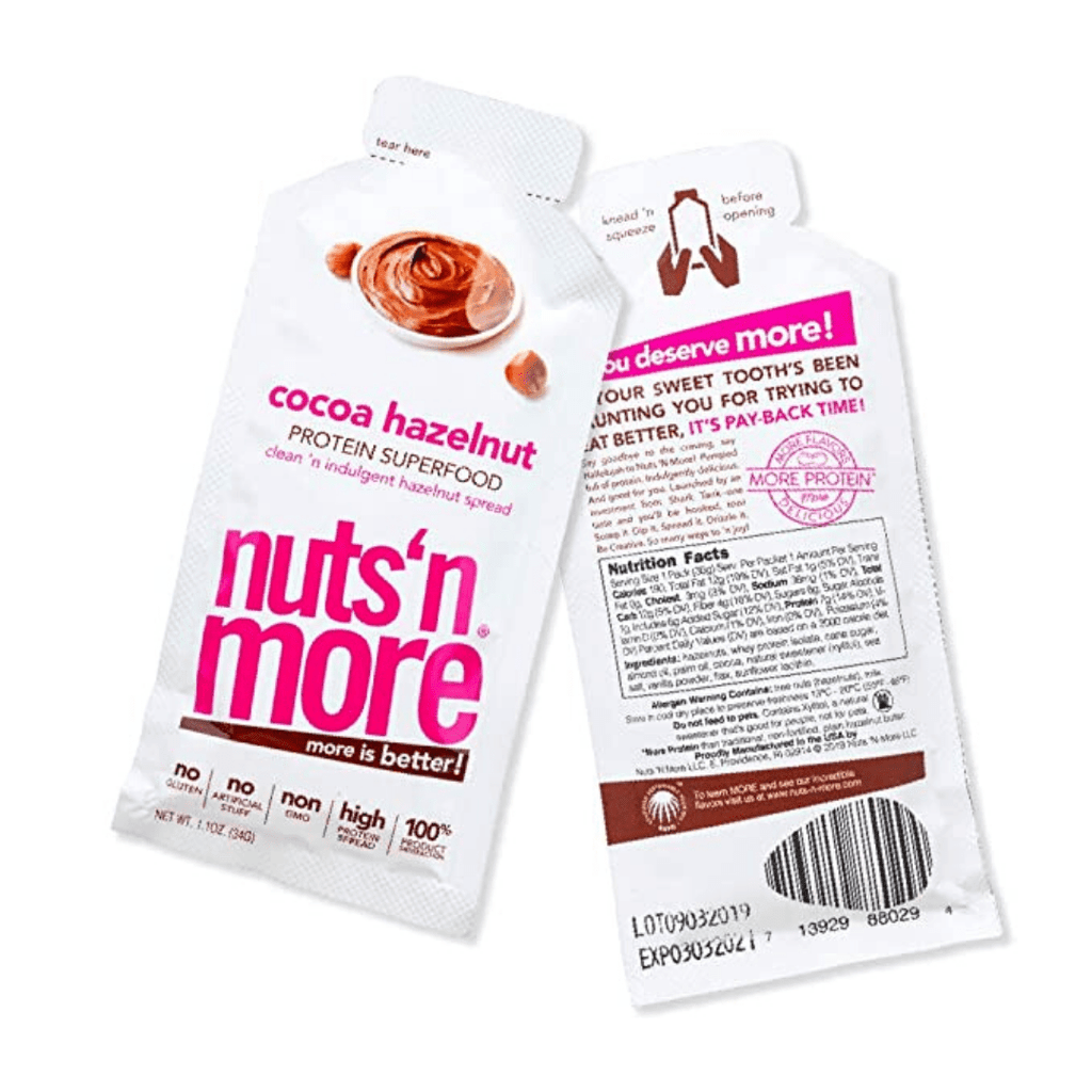 Nuts 'N More Peanut Butter Protein Spread Sachets, Protein Spread, Nuts N' More, Protein Package Protein Package Pick and Mix Protein UK