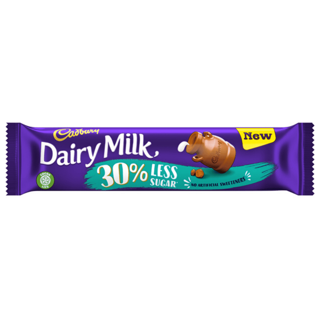 Cadbury Dairy Milk Low Sugar Bar, Protein Bars, Cadbury Dairy Milk, Protein Package Protein Package Pick and Mix Protein UK