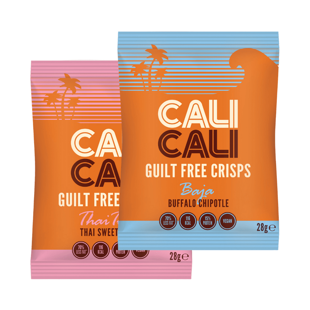 Cali Cali Guilt Free Protein Crisps Box (21 Packets)
