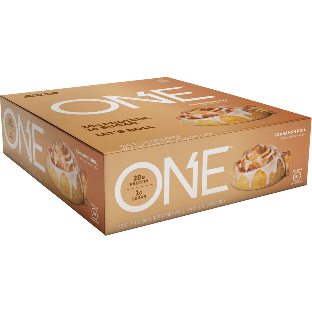 Oh yeah! ONE Protein Bar Cinnamon Roll, Protein Bars, ONE, Protein Package Protein Package Pick and Mix Protein UK