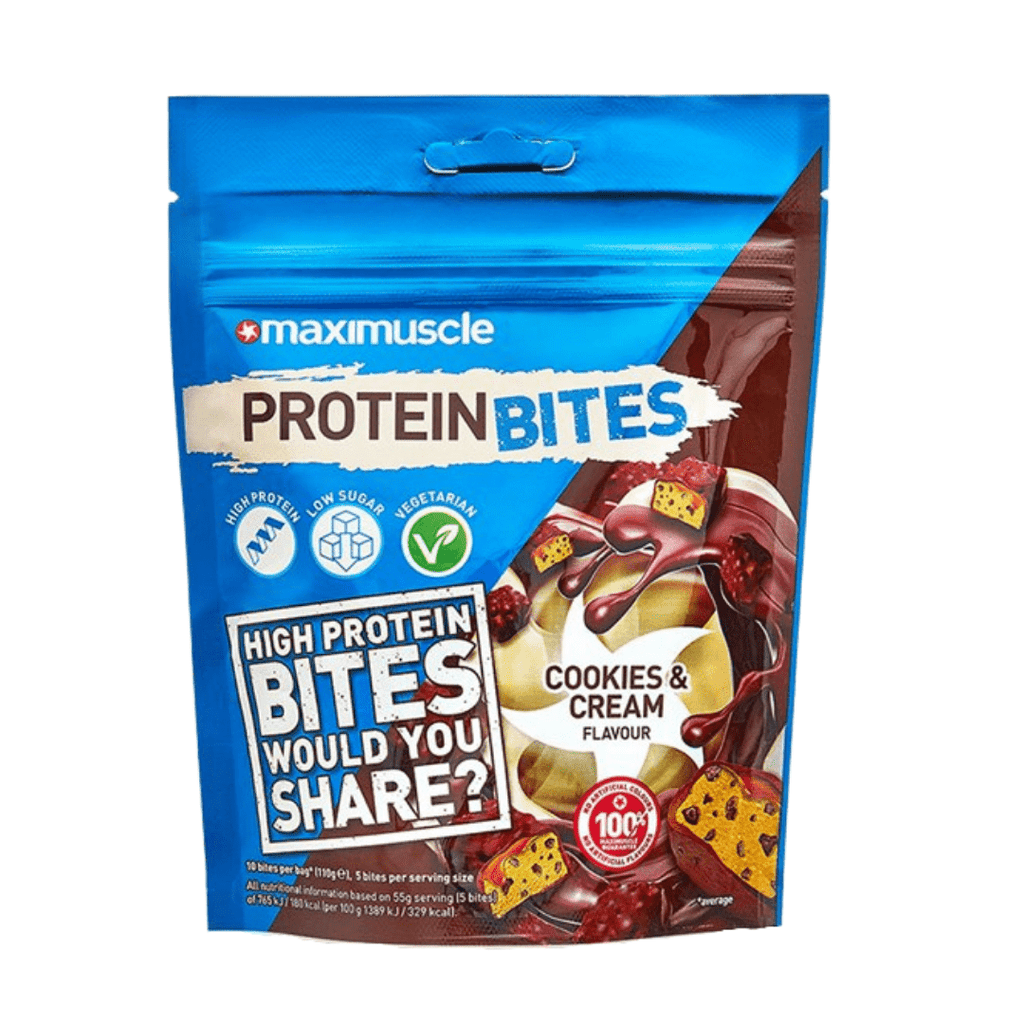 Maximuscle Protein Bites Cookies & Cream