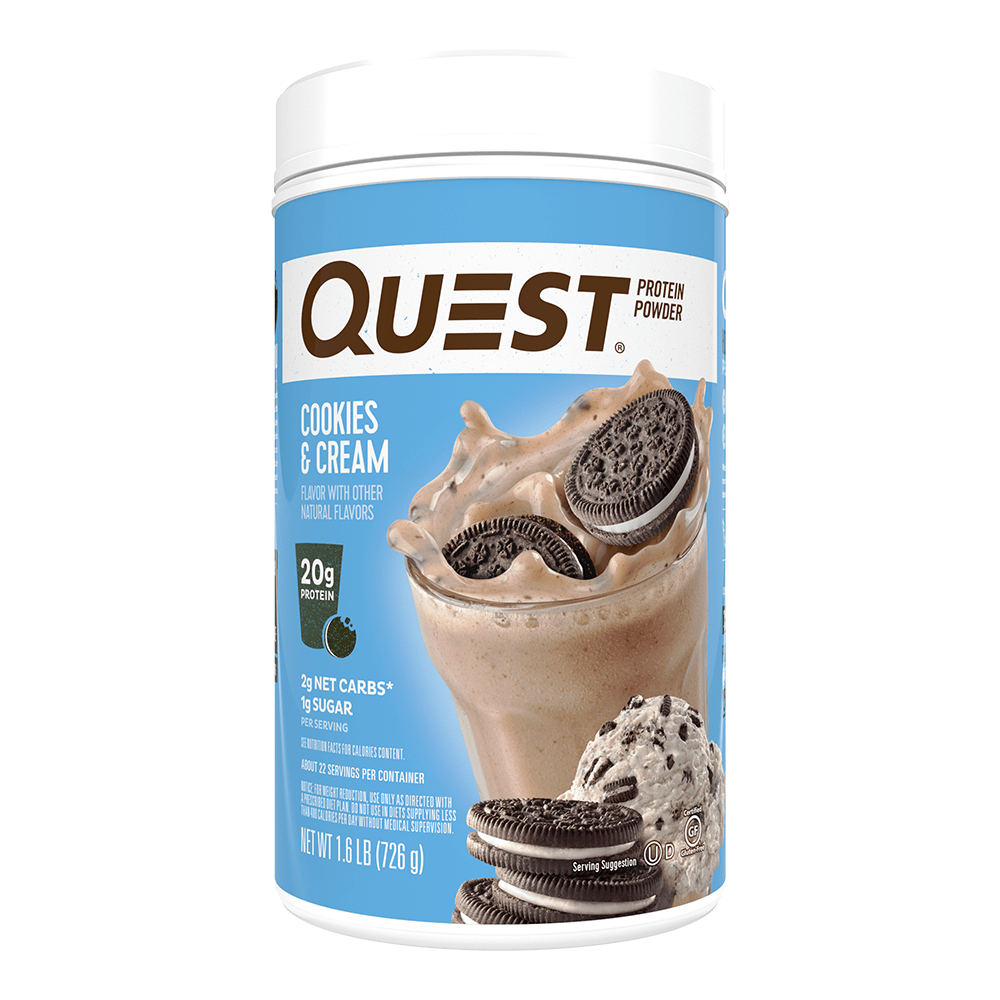 Cookies & Cream 726g Protein Powder by Quest Nutrition - Protein Package UK