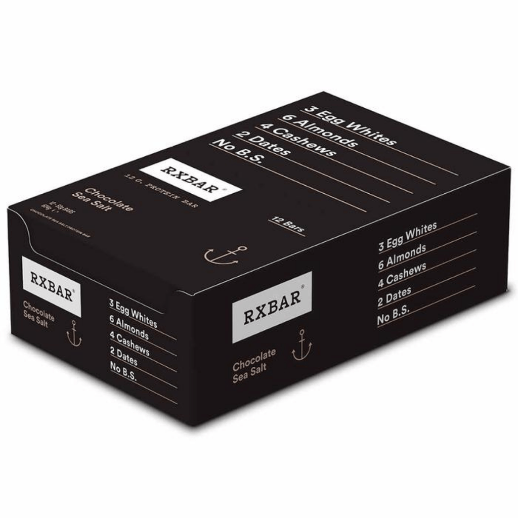RXBAR Protein Bar Chocolate Sea Salt - Protein Package