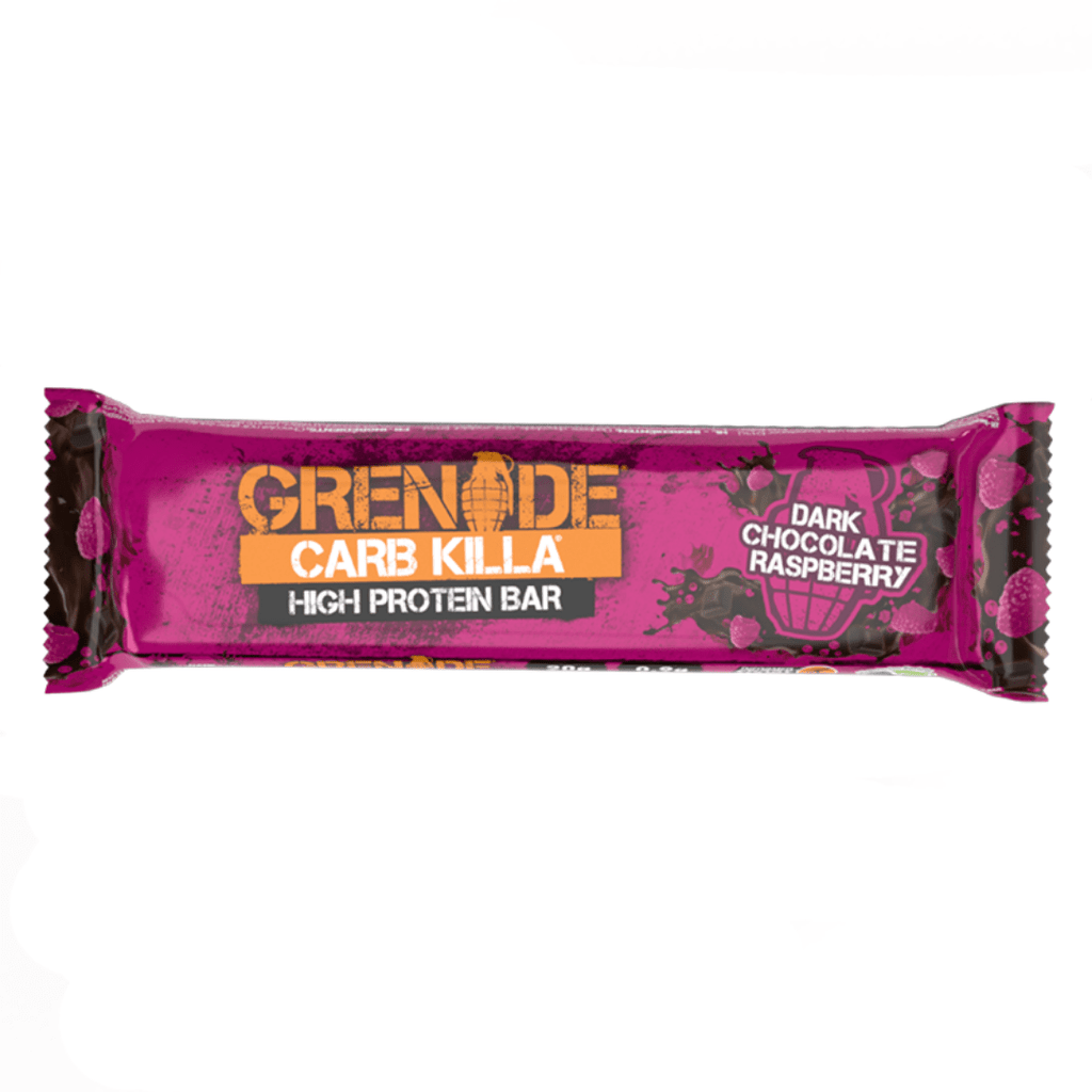 Grenade Carb Killa Protein Bar Dark Chocolate Raspberry, Protein Bars, Grenade, Protein Package Protein Package Pick and Mix Protein UK