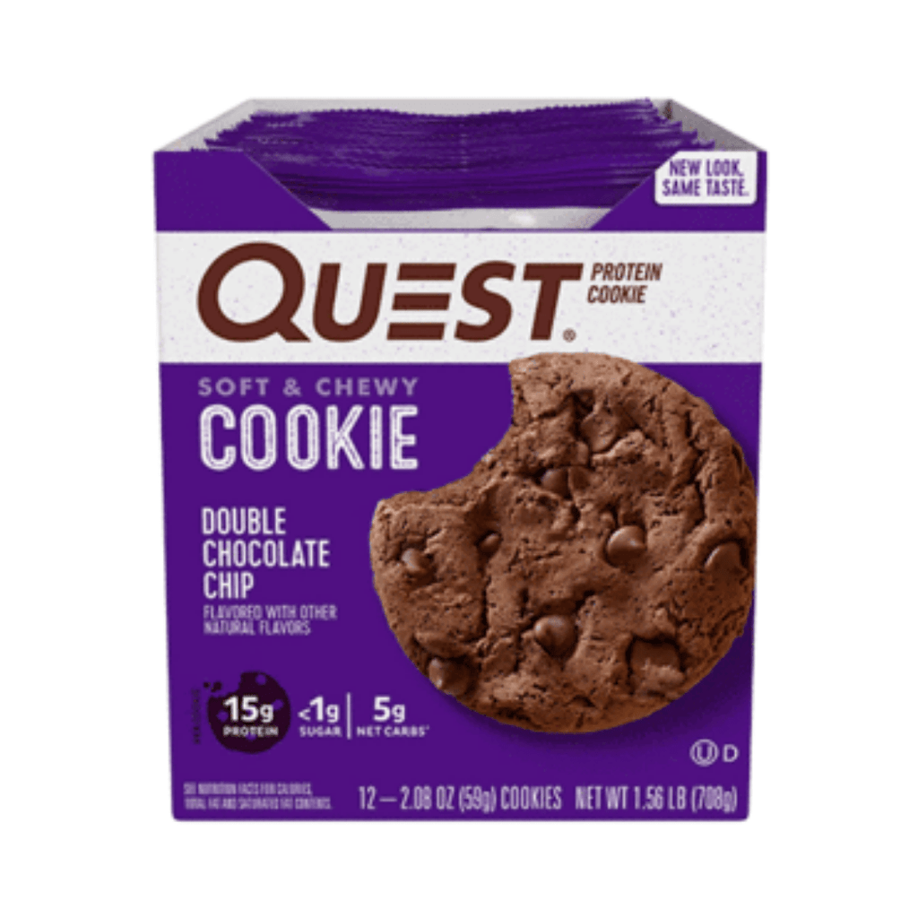 Quest Nutrition Protein Cookie Box (12 Cookies), Protein Cookies, Quest Nutrition, Protein Package Protein Package Pick and Mix Protein UK