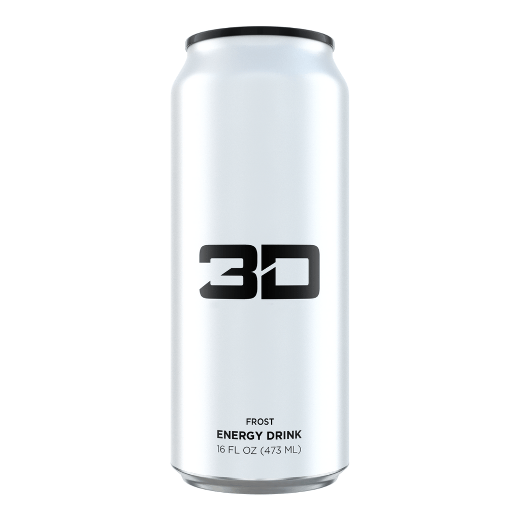 Christian Guzman's 3D Energy Drink White Frost Original, Energy Drinks, 3D Energy, Protein Package, Pick and Mix Protein UK