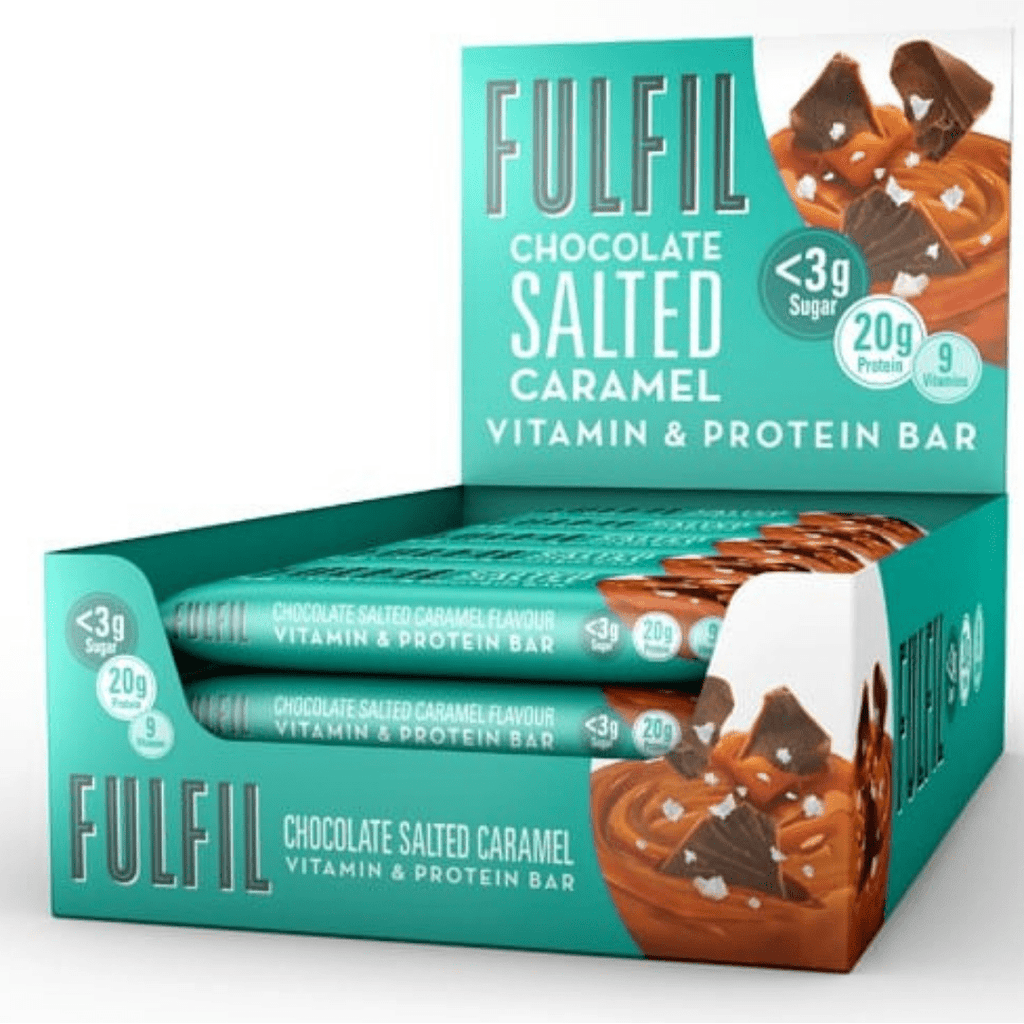 Fulfil Nutrition Vitamin & Protein Bar Chocolate Salted Caramel, Protein Bar, Fulfil, Protein Package Protein Package Pick and Mix Protein UK
