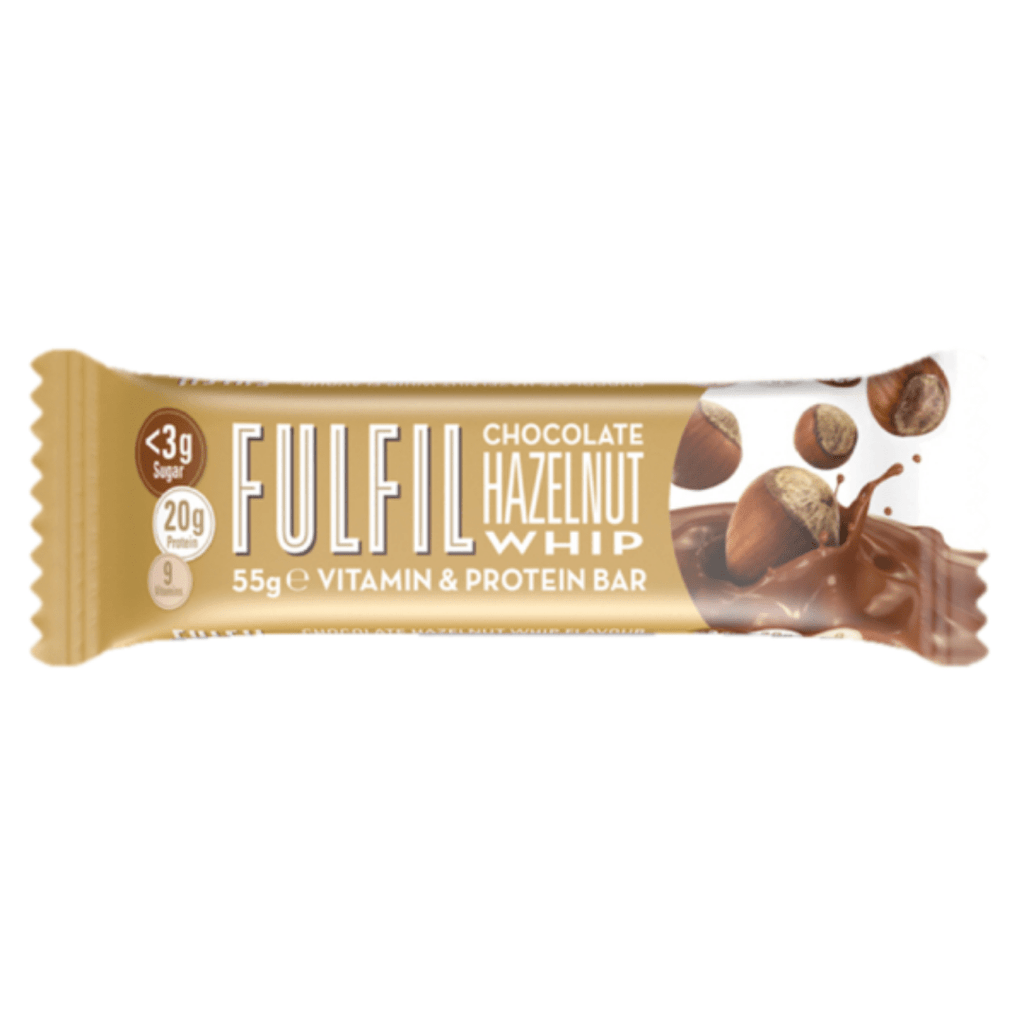 Fulfil Nutrition Vitamin & Protein Bar Hazelnut Whip, Protein Bar, Fulfil, Protein Package Protein Package Pick and Mix Protein UK