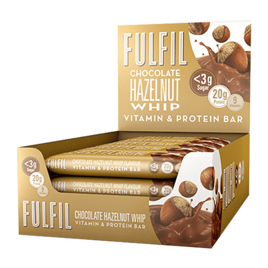 Fulfil Nutrition Vitamin & Protein Bar Hazelnut Whip, Protein Bars, Fulfil Nutrition, Protein Package Protein Package Pick and Mix Protein UK