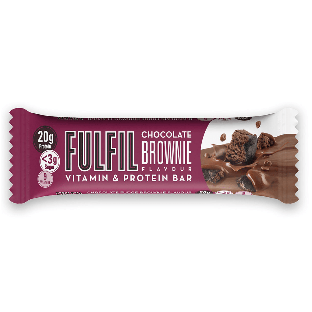 Fulfil Nutrition Vitamin & Protein Bar Chocolate Brownie - Protein Package