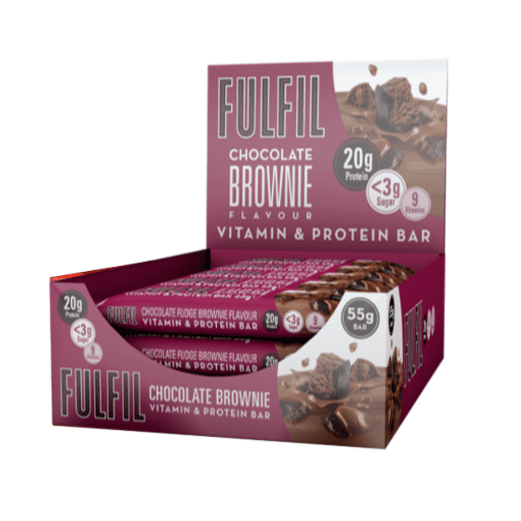 Fulfil Nutrition Vitamin & Protein Bar Chocolate Brownie, Protein Bars, Fulfil Nutrition, Protein Package Protein Package Pick and Mix Protein UK