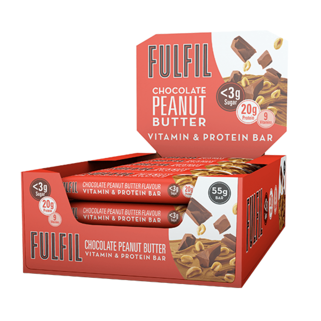 Fulfil Nutrition Vitamin & Protein Bar Chocolate Peanut Butter, Protein Bars, Fulfil Nutrition, Protein Package, Pick and Mix Protein UK