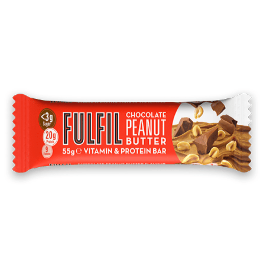 Fulfil Nutrition Vitamin & Protein Bar Chocolate Peanut Butter, Protein Bars, Fulfil Nutrition, Protein Package Protein Package Pick and Mix Protein UK